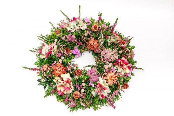 nagrobni vencek cvetlicarna kavalir