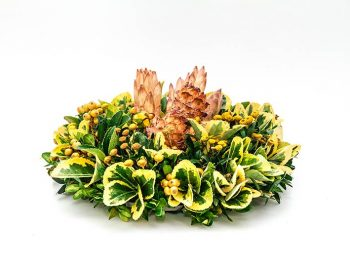 Polsuhi nagrobni venček cvetličarna kavalir
