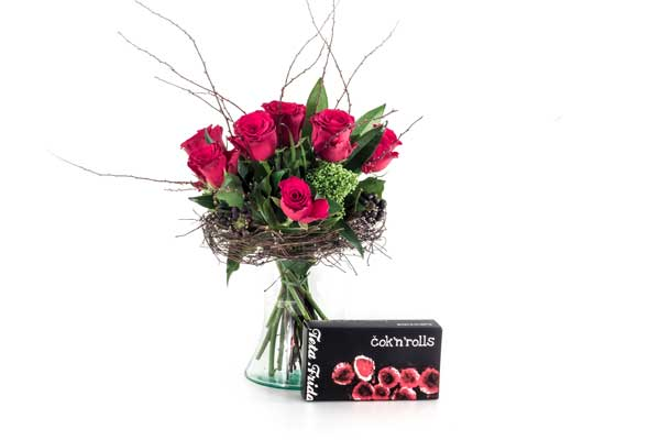 vrtnice in čokolada